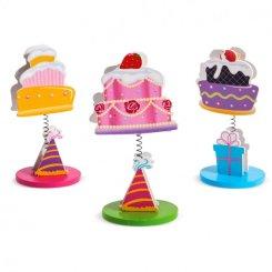 Μπομπονιερα Ξύλινο Μανταλάκι Cupcakes