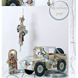 Πακέτο βάπτισης my military jeep