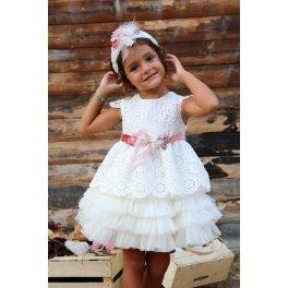 Βαπτιστικό φόρεμα k3765