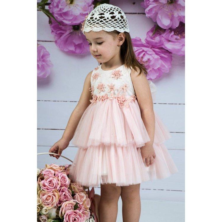 1e6d9ec20723 Βαπτιστικό Φόρεμα code 4143