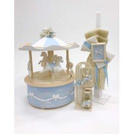Πακέτο βάπτισης Luna park carousel