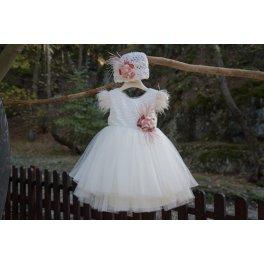 Βαπτιστικό φόρεμα 4305Φ