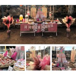 All Inclusive Pink Teepee